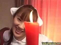 หนังav japan  สาวพยาบาล ชอบเล่นเย็ดหีแบบซาดิส ให้หนุ่มเอาน้ำตาเทียนหยดใส่ ได้อารมณ์สุดๆ