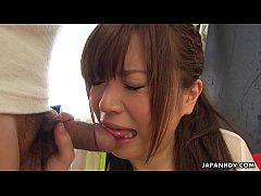 jav japan  สาวน้อยอมควยครั้งแรก เขินๆหน่อย แต่ใจสู้นะ อมไปอมมาเดียวก็เก่ง